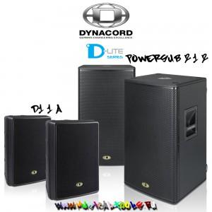 Dynacord D-Lite Active D11A&PowerSub212