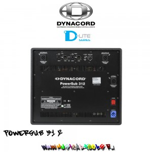 Dynacord PowerSub 312 back