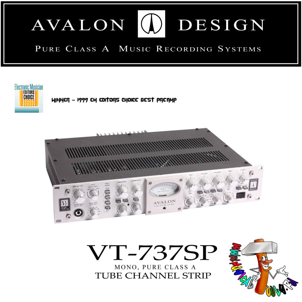 Avalon Design VT-737SP top