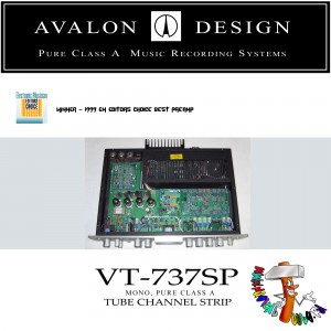 Avalon Design VT-737SP top open