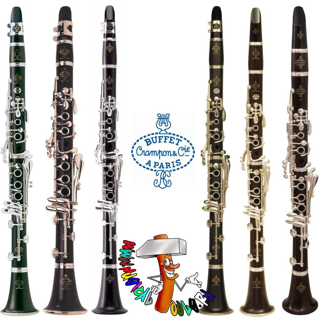 Buffet-Crampon Clarinets