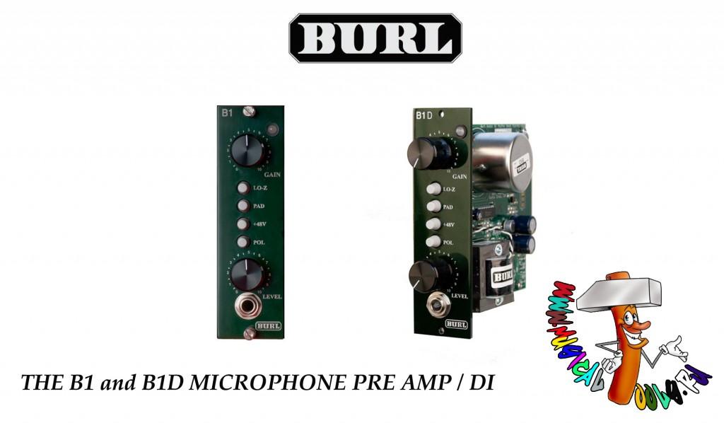 Burl Audio B1&B1D