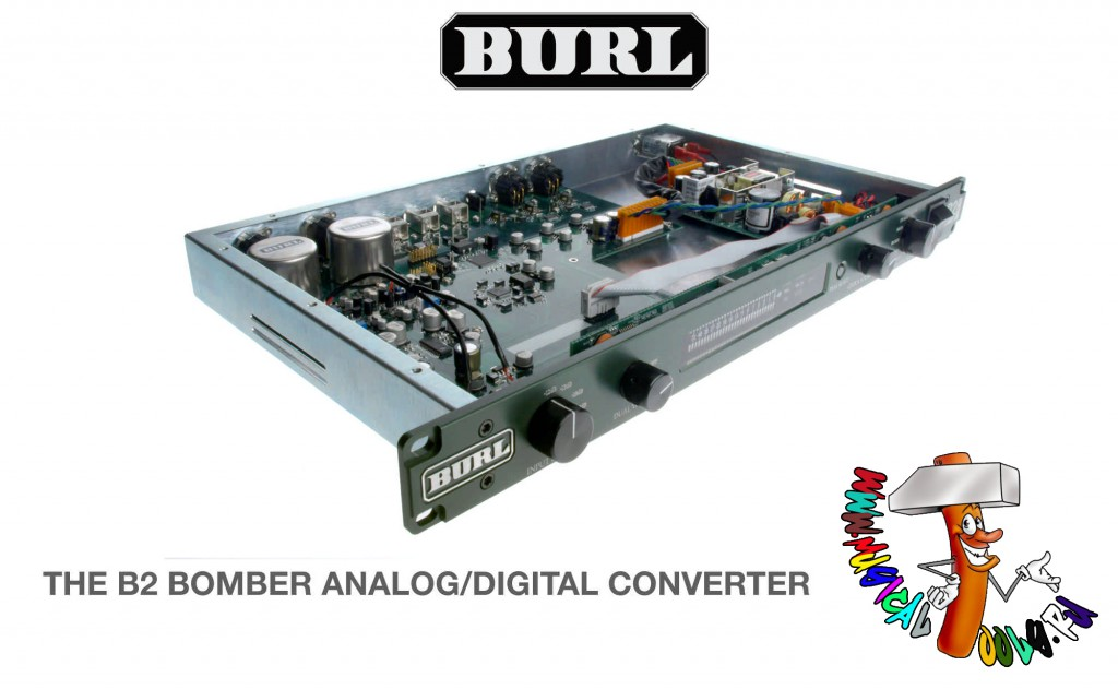 Burl Audio B2 Bomber ADC top open