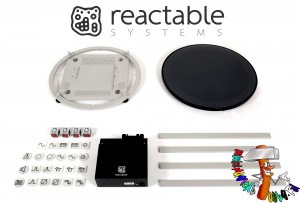 Reactable Live disassembled