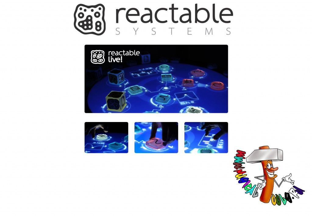 Reactable Systems Live