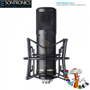 Sontronics STC-2 Black front
