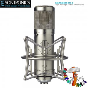 Sontronics STC-2 Silver front