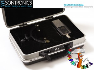 Sontronics Sigma in case