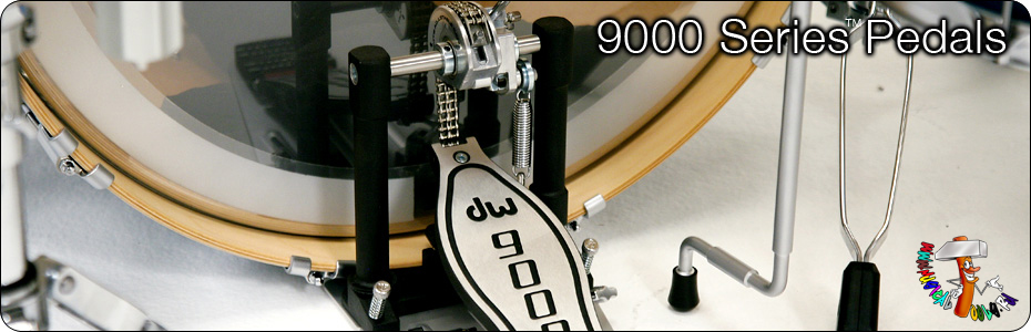 DW 9000 series pedals