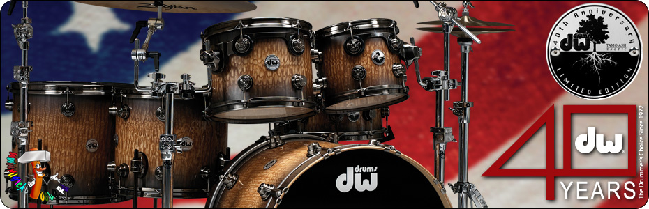 DW Drums 40kit