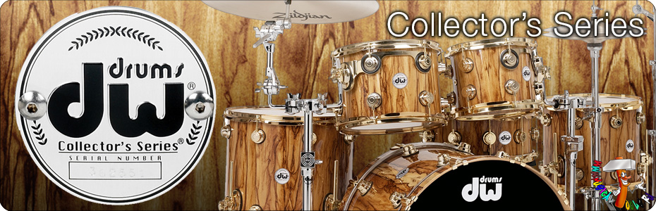 DW Drums collectors