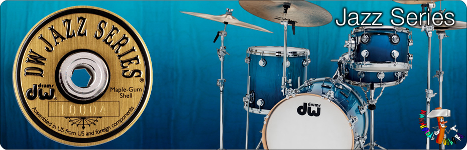 DW Drums jazz