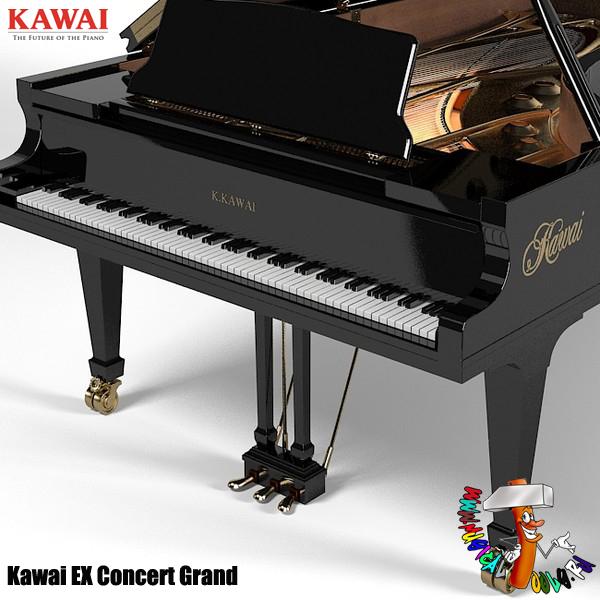 Kawai EX series concert