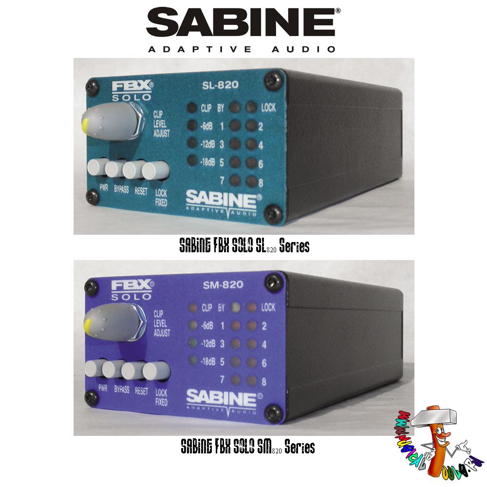 Sabine FBX Solo series