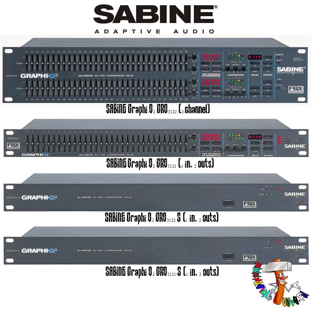Sabine Graphi-Q2 series