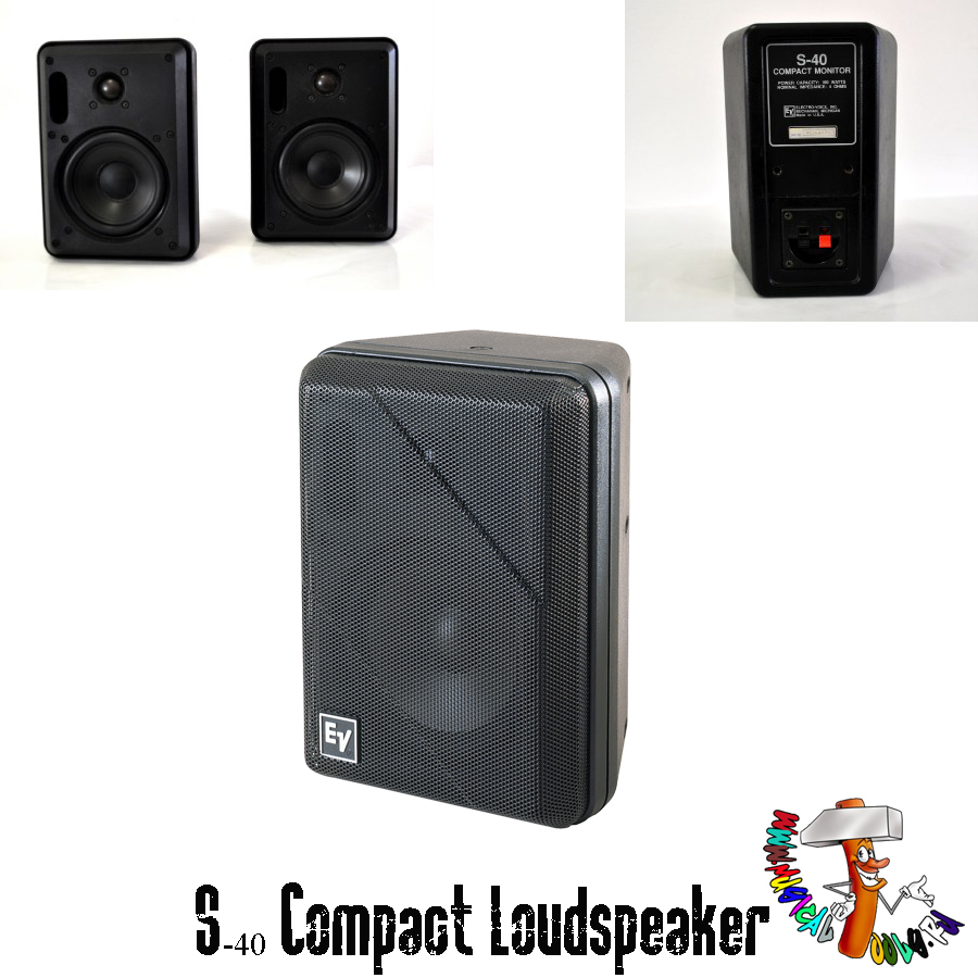 Electro-Voice S-40 Compact Loudspeaker