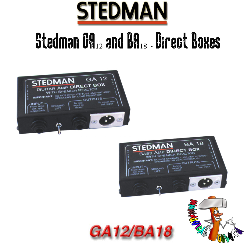 Stedman GA12 and BA18 - Direct Boxes